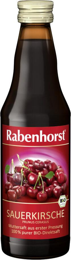 Rabenhorst Sauerkirsche Muttersaft BIO 6x330ml
