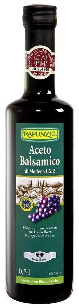 Rapunzel Aceto Balsamico di Modena I.G.P. (Rustico) 6x0,5l