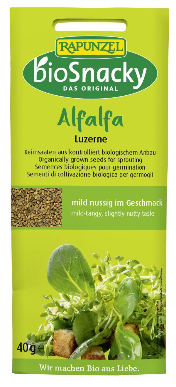 Rapunzel Alfalfa Luzerne bioSnacky 40g