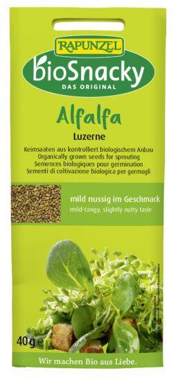 Rapunzel Alfalfa Luzerne bioSnacky 12x40g
