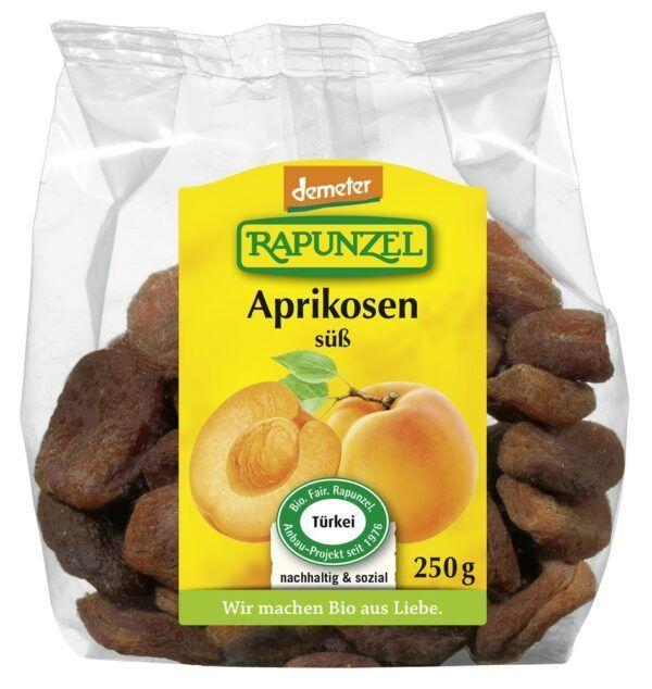 Rapunzel Aprikosen ganz süß, entsteint, Projekt, demeter 8x250g