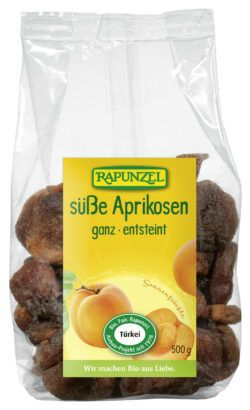 Rapunzel Aprikosen ganz süß, entsteint, Projekt 8x500g