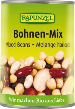 Rapunzel Bohnen-Mix in der Dose 6x400g