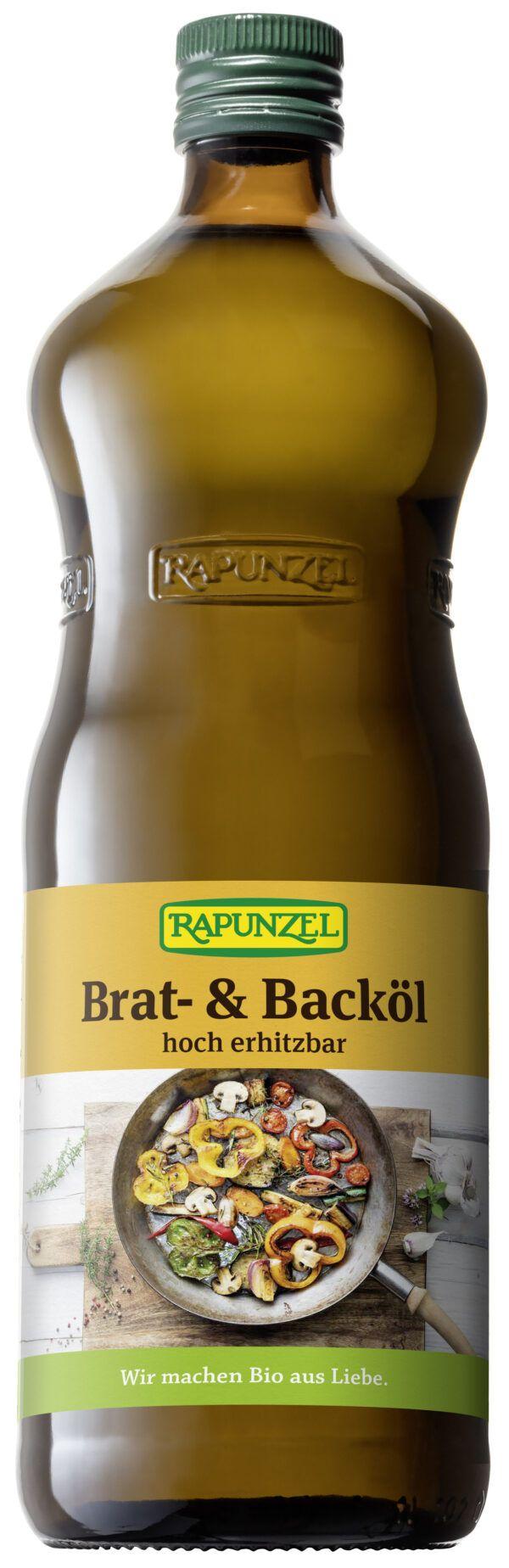 Rapunzel Brat- und Backöl 1l