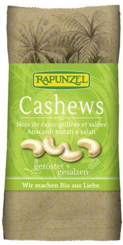 Rapunzel Cashewkerne geröstet, gesalzen 10x50g