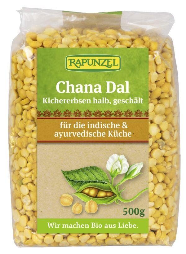 Rapunzel Chana Dal, Kichererbsen halb, geschält 6x500g