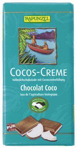 Rapunzel Cocos-Creme Vollmilch Schokolade gefüllt HIH 12x100g