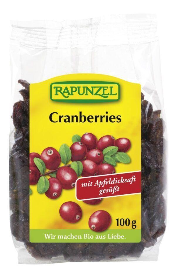 Rapunzel Cranberries 8x100g