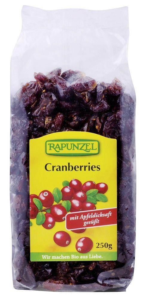 Rapunzel Cranberries 8x250g