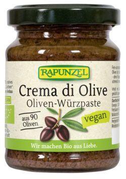 Rapunzel Crema di Olive, Oliven-Würzpaste 6x120g