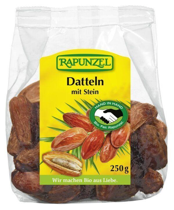Rapunzel Datteln mit Stein Deglet Nour, HIH 8x250g