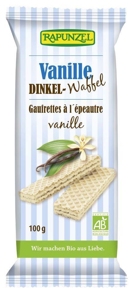 Rapunzel Dinkel-Waffeln Vanille 11x100g