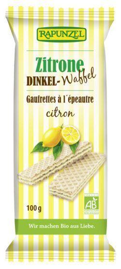 Rapunzel Dinkel-Waffeln Zitrone 100g