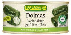 Rapunzel Dolmas Weinblätter gefüllt mit Reis, Projekt 6x280g