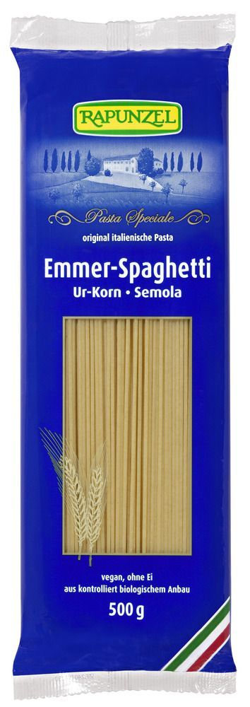 Rapunzel Emmer-Spaghetti Semola 12x500g