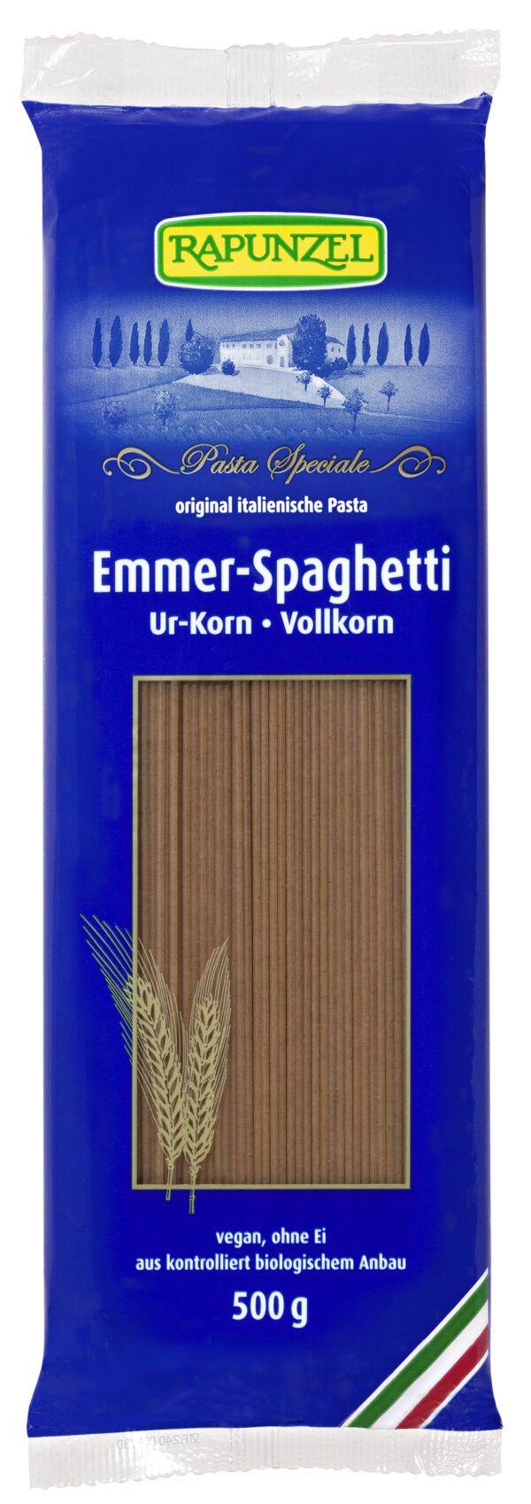 Rapunzel Emmer-Spaghetti Vollkorn 500g