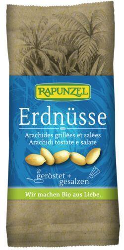 Rapunzel Erdnüsse geröstet, gesalzen 10x75g