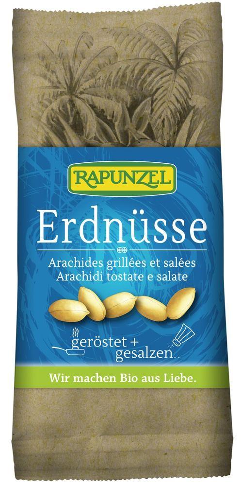 Rapunzel Erdnüsse geröstet, gesalzen 75g
