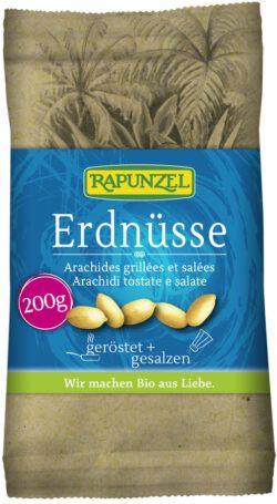 Rapunzel Erdnüsse geröstet, gesalzen 8x200g