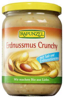Rapunzel Erdnussmus Crunchy mit Salz 500g