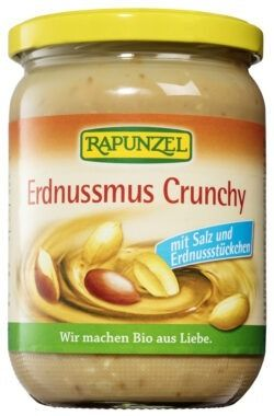 Rapunzel Erdnussmus Crunchy mit Salz 6x500g