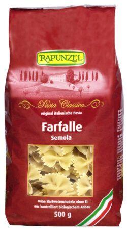 Rapunzel Farfalle Semola 12x500g