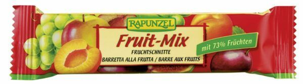 Rapunzel Fruchtschnitte Fruit-Mix 25x40g