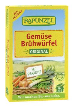Rapunzel Gemüse-Brühwürfel Original, mit Bio-Hefe 15x84g