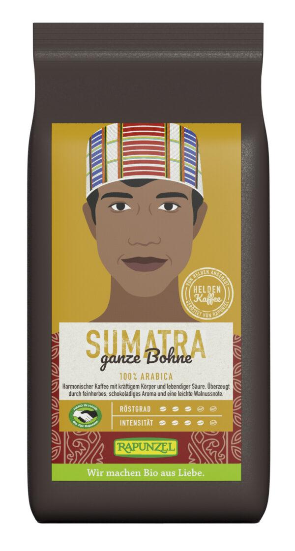 Rapunzel Heldenkaffee Sumatra, ganze Bohne HIH 6x250g