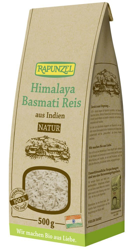 Rapunzel Himalaya Basmati Reis natur / Vollkorn 6x500g