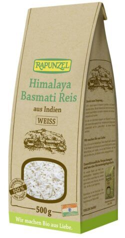 Rapunzel Himalaya Basmati Reis weiß 500g
