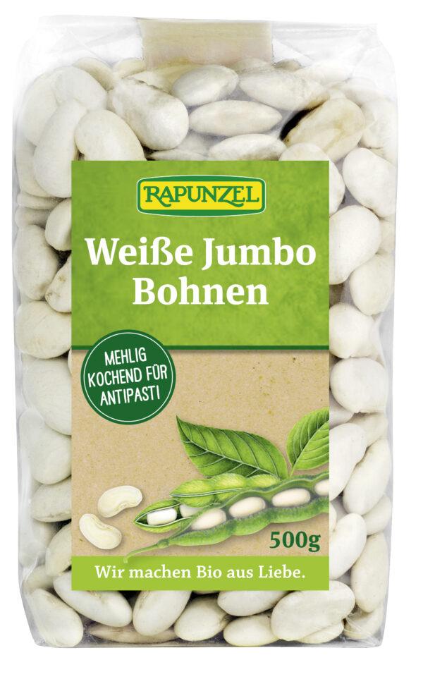 Rapunzel Jumbo-Bohnen weiß 500g