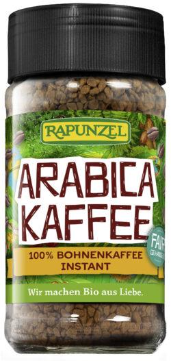 Rapunzel Kaffee Instant, Arabica 6x100g