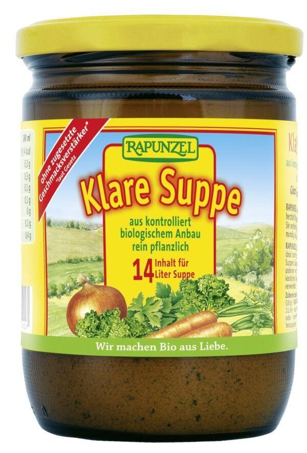 Rapunzel Klare Suppe, mit Bio-Hefe 250g