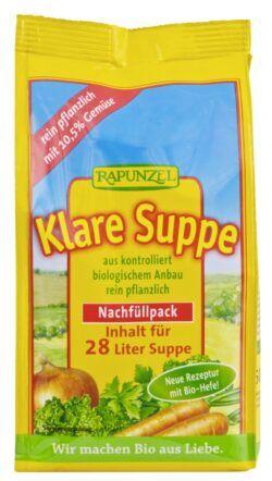 Rapunzel Klare Suppe, mit Bio-Hefe 6x500g