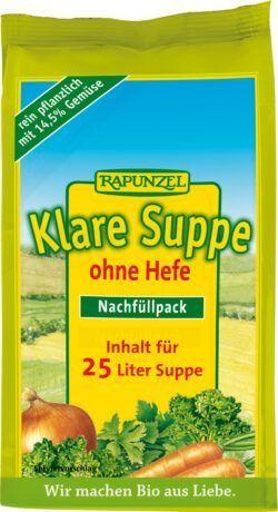 Rapunzel Klare Suppe, ohne Hefe 500g