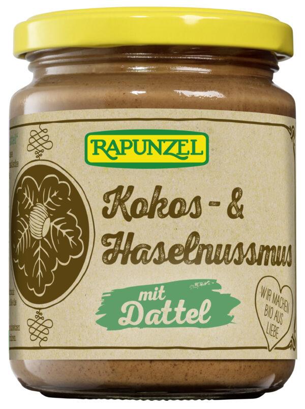 Rapunzel Kokos- & Haselnussmus mit Dattel 250g