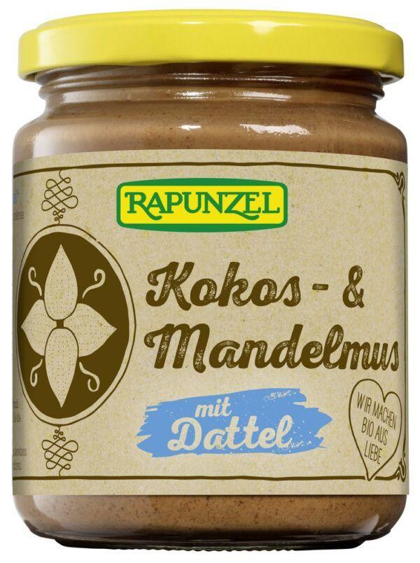 Rapunzel Kokos- & Mandelmus mit Dattel 6x250g