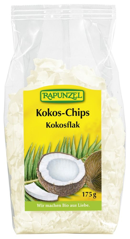 Rapunzel Kokos-Chips 6x175g