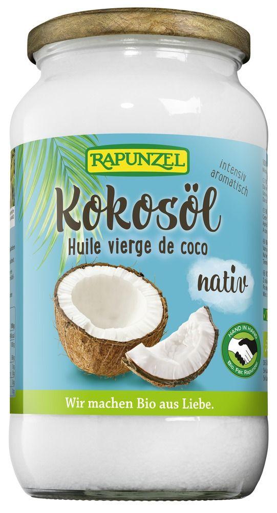Rapunzel Kokosöl nativ HIH 2x864ml