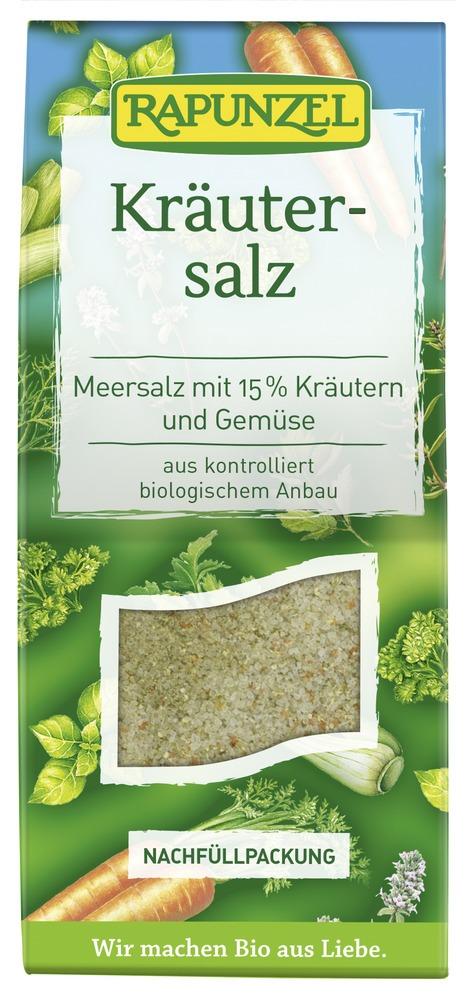 Rapunzel Kräutersalz mit 15% Kräutern & Gemüse 8x500g