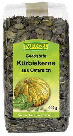 Rapunzel Kürbiskerne geröstet 6x500g