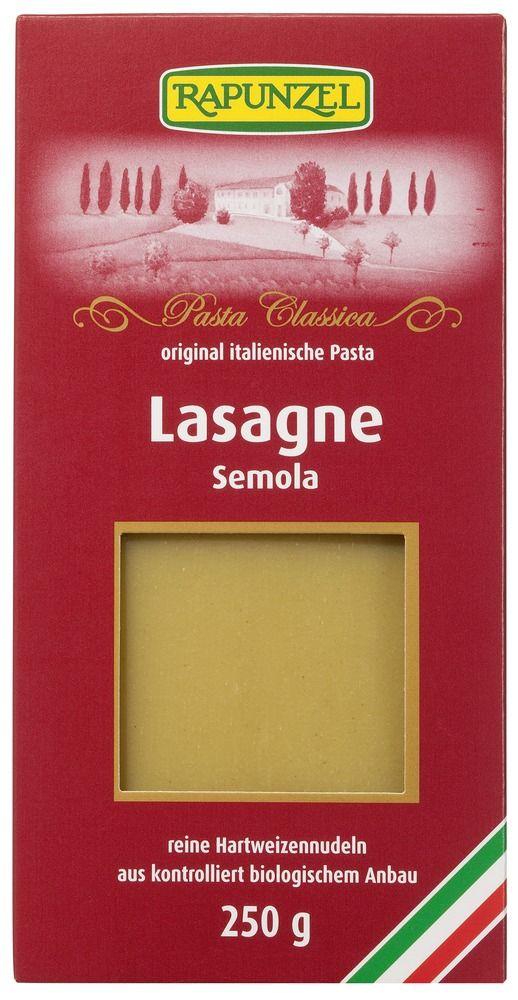 Rapunzel Lasagne-Platten Semola 250g