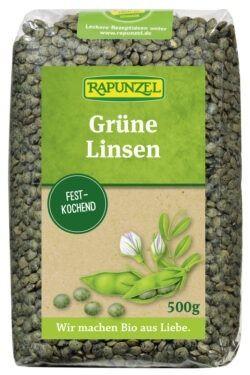 Rapunzel Linsen grün 500g