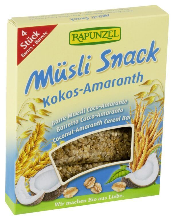 Rapunzel Müsli Snack Kokos-Amaranth 14x29g