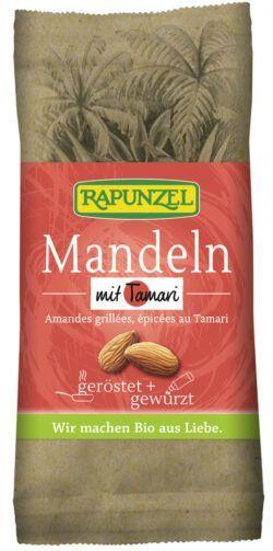 Rapunzel Mandeln geröstet, mit Tamari gewürzt 10x60g