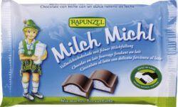 Rapunzel Milch Michl Schokolade mit Milchfüllung HIH 12x100g