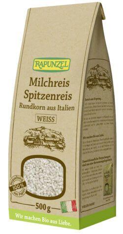 Rapunzel Milchreis Spitzenreis Rundkorn weiß 500g