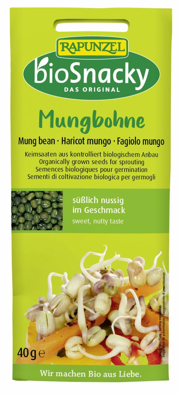 Rapunzel Mungbohne bioSnacky 12x40g