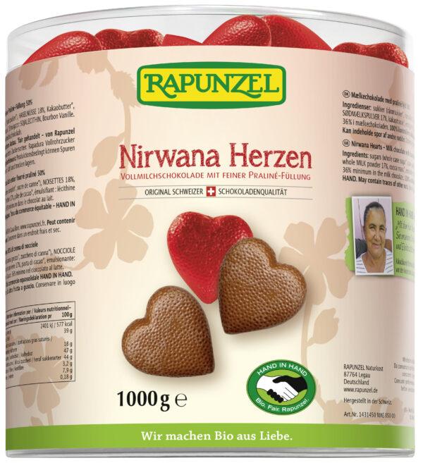 Rapunzel Nirwana Herzen HIH 1kg